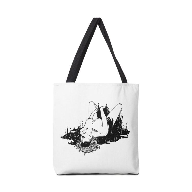 Darkness Comes, So Does She Accessories Bag by skullpelillustrations's Artist Shop