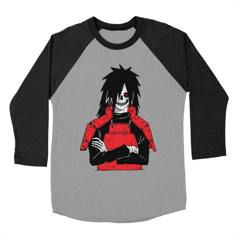 Skullified Madara Men's Baseball Triblend Longsleeve T-Shirt by skullpelillustrations's Artist Shop