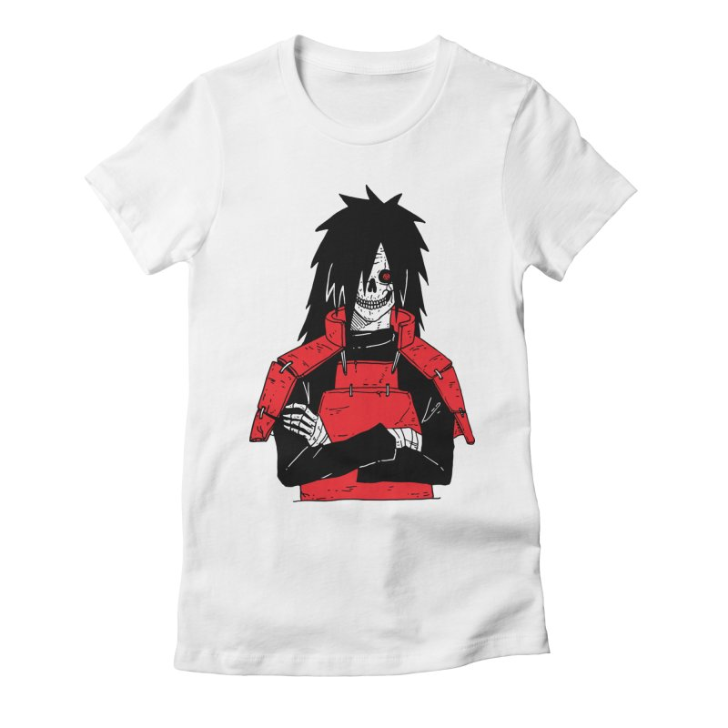 Skullified Madara Women's Fitted T-Shirt by skullpelillustrations's Artist Shop