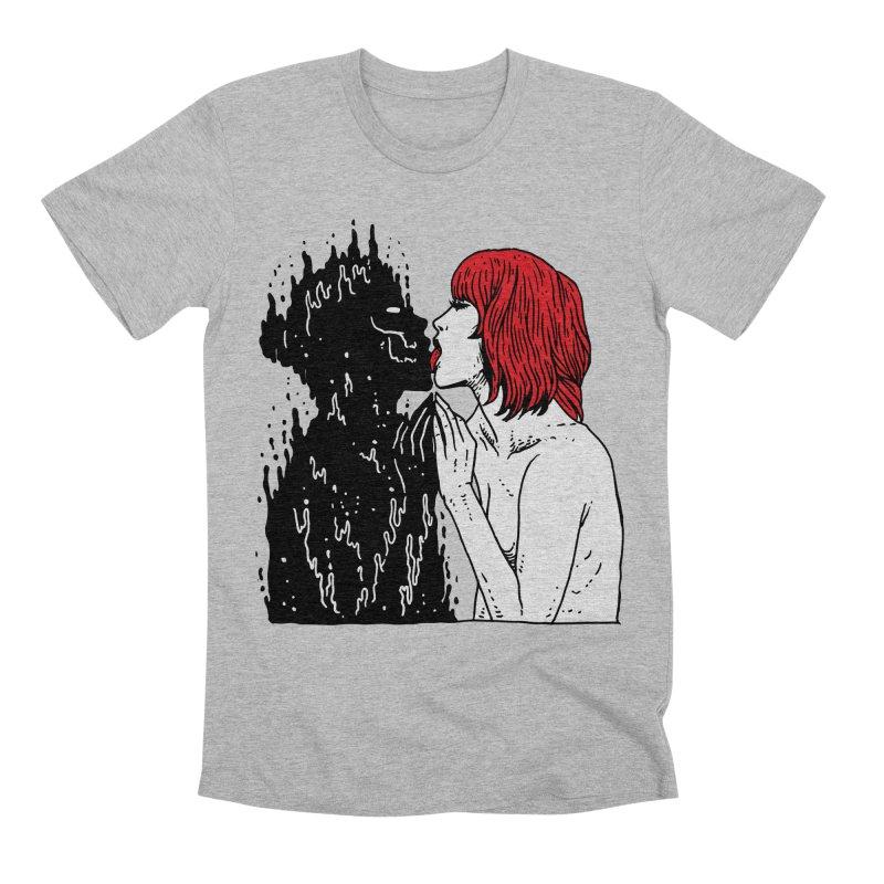 Darkness Tastes Good Men's Premium T-Shirt by skullpel illustrations's Artist Shop