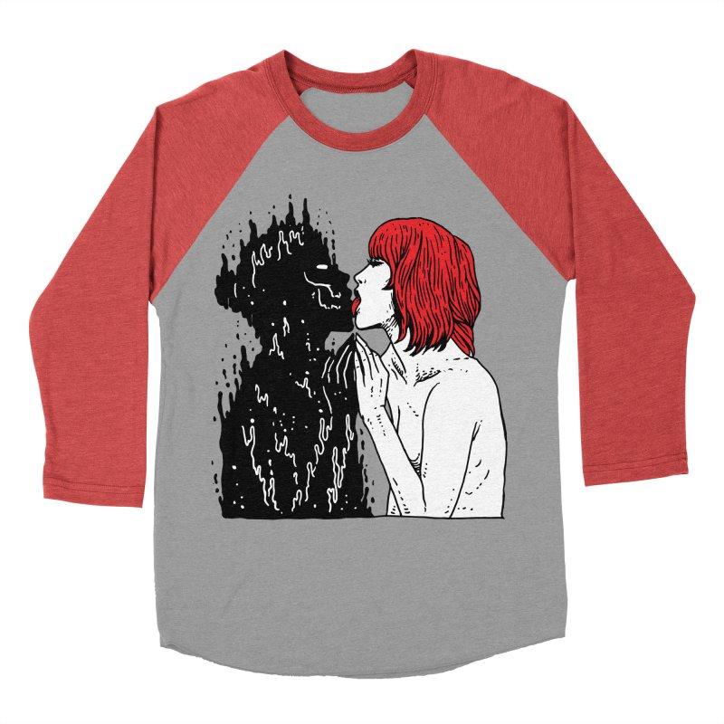 Darkness Tastes Good Women's Baseball Triblend Longsleeve T-Shirt by skullpel illustrations's Artist Shop