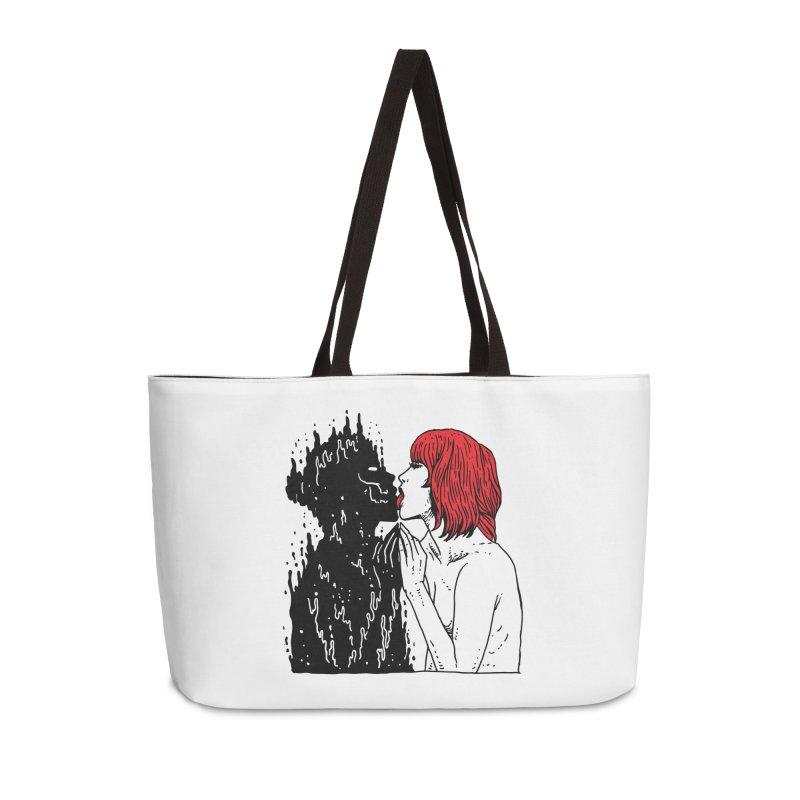 Darkness Tastes Good Accessories Weekender Bag Bag by skullpel illustrations's Artist Shop