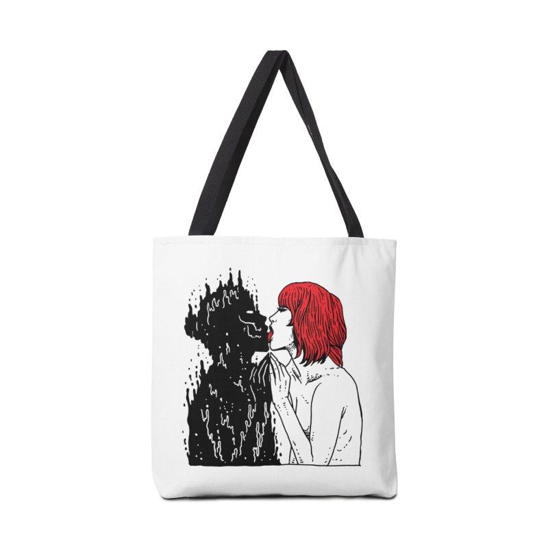 Darkness Tastes Good Accessories Tote Bag Bag by skullpel illustrations's Artist Shop