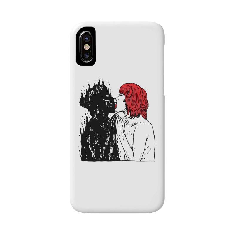 Darkness Tastes Good Accessories Phone Case by skullpel illustrations's Artist Shop