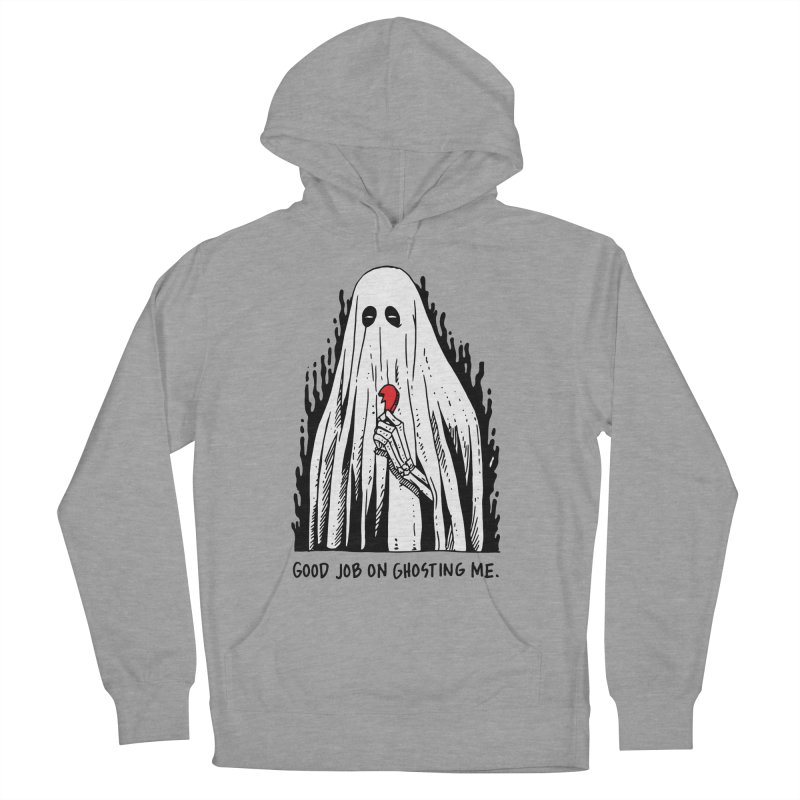 Good Job On Ghosting Me Men's French Terry Pullover Hoody by skullpel illustrations's Artist Shop