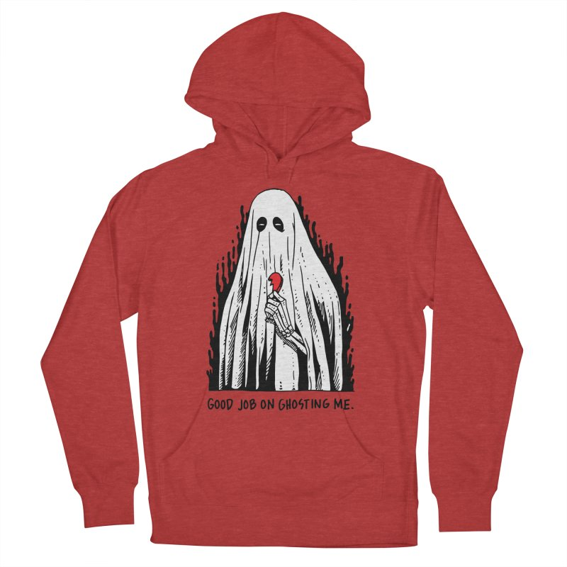 Good Job On Ghosting Me Men's French Terry Pullover Hoody by skullpelillustrations's Artist Shop