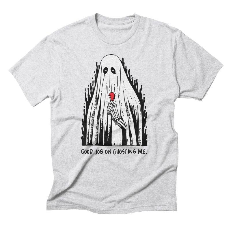 Good Job On Ghosting Me Men's Triblend T-Shirt by skullpel illustrations's Artist Shop