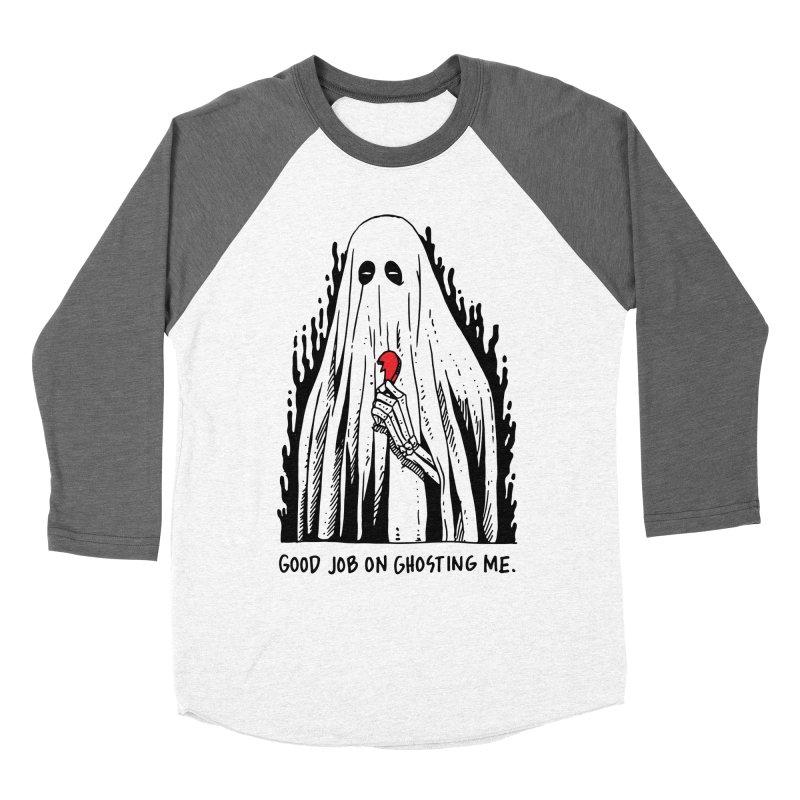 Good Job On Ghosting Me Men's Baseball Triblend Longsleeve T-Shirt by skullpel illustrations's Artist Shop