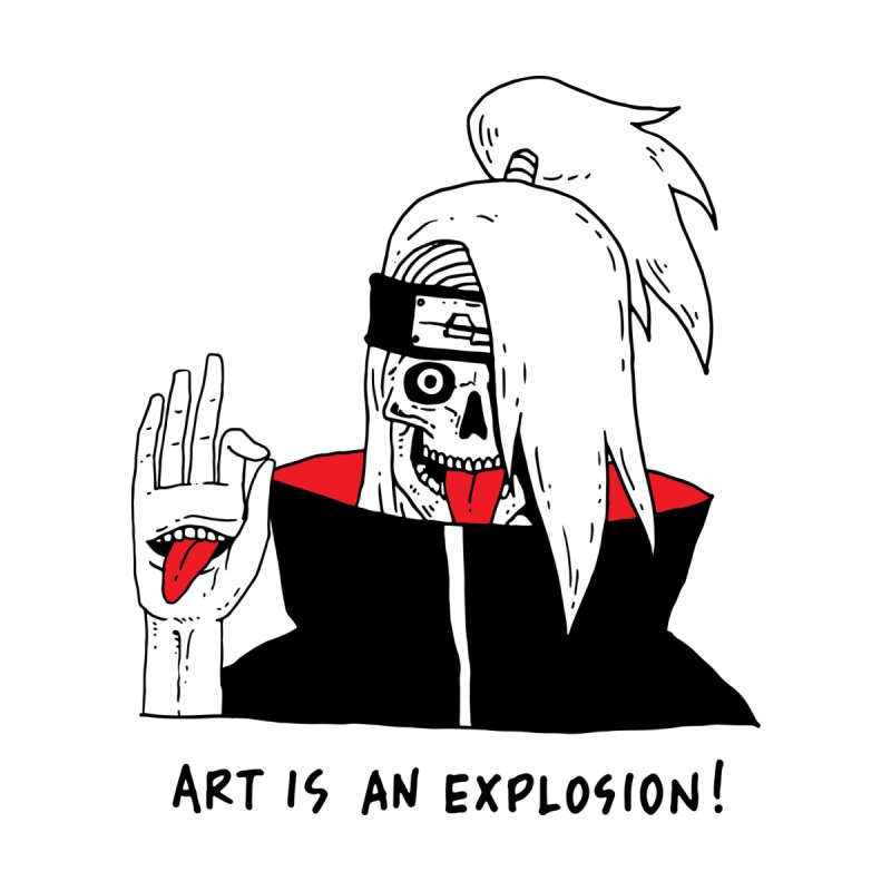 Skvllified Deidara   by skullpelillustrations's Artist Shop