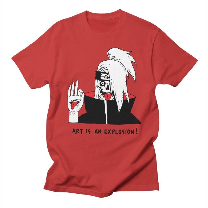 Skvllified Deidara Women's Regular Unisex T-Shirt by skullpelillustrations's Artist Shop