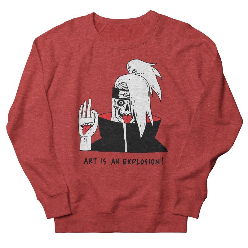 Skvllified Deidara Men's French Terry Sweatshirt by skullpelillustrations's Artist Shop