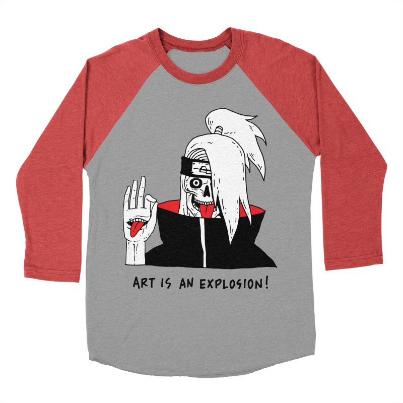 Skvllified Deidara Women's Baseball Triblend Longsleeve T-Shirt by skullpelillustrations's Artist Shop