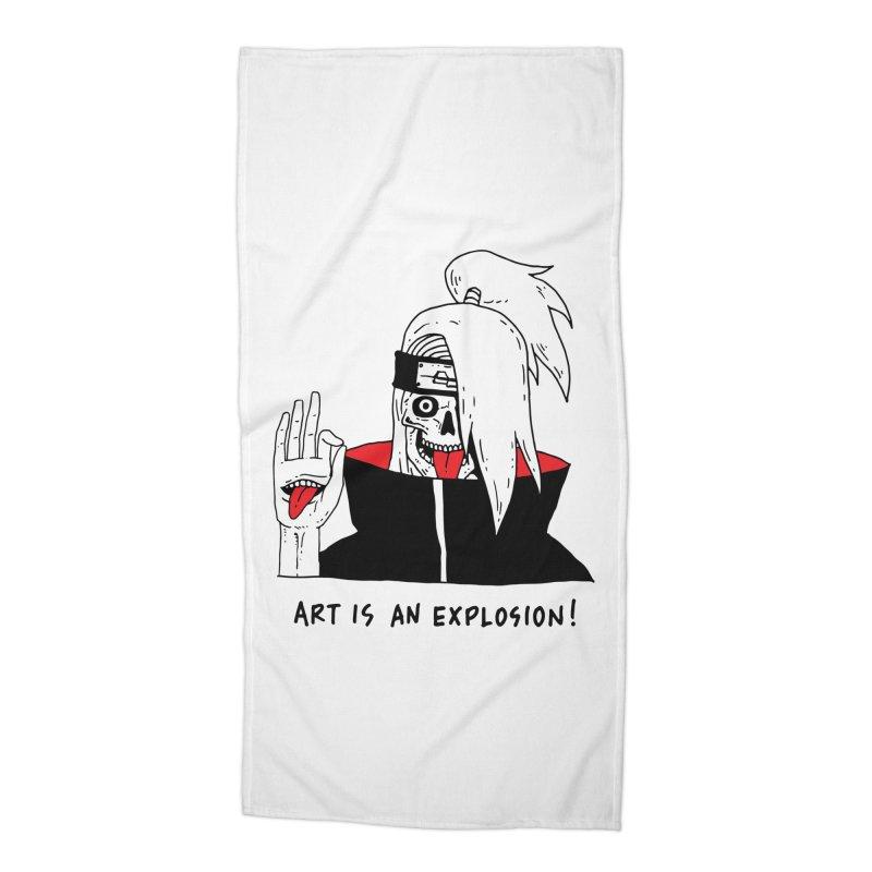 Skvllified Deidara Accessories Beach Towel by skullpelillustrations's Artist Shop