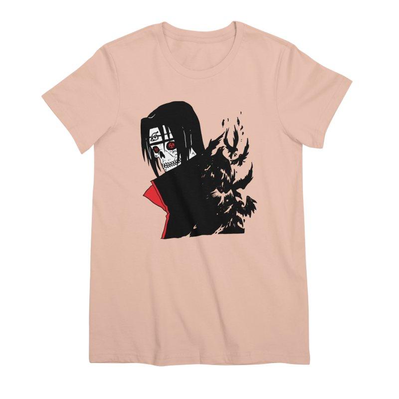 Skvllified Itachi Women's Premium T-Shirt by skullpelillustrations's Artist Shop