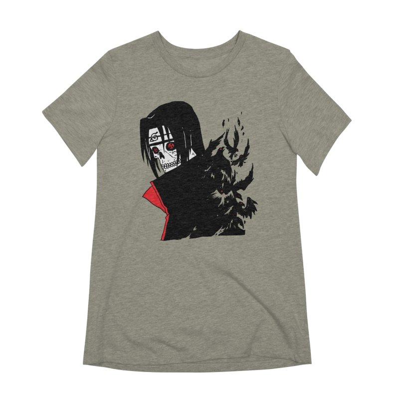 Skvllified Itachi Women's Extra Soft T-Shirt by skullpelillustrations's Artist Shop