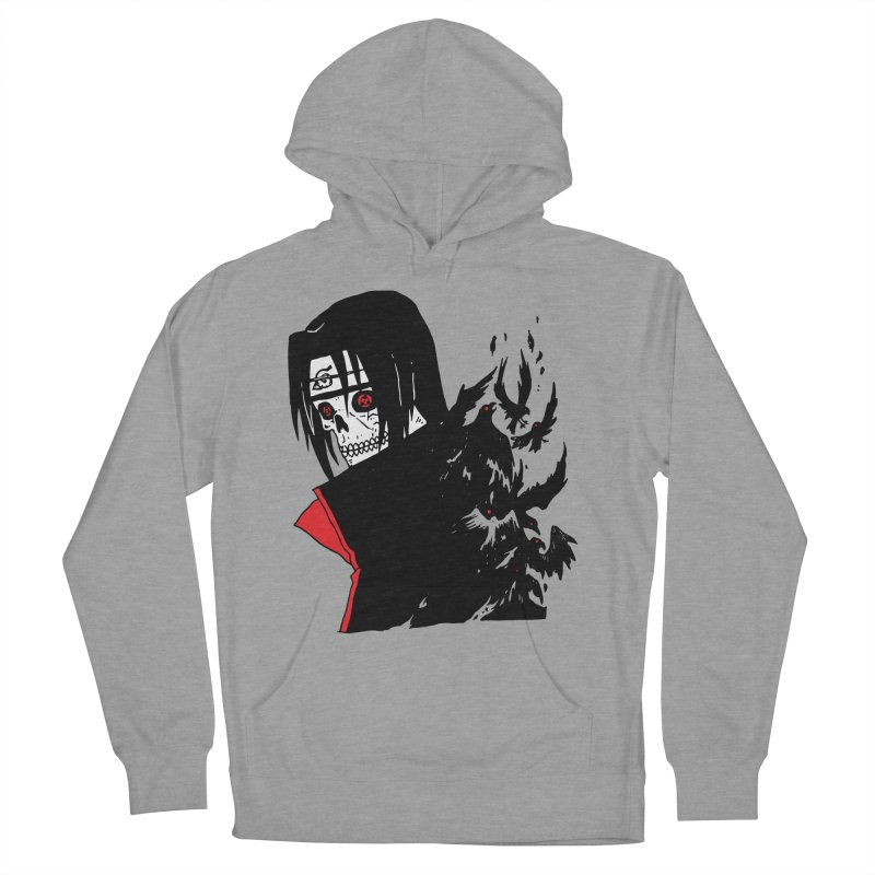 Skvllified Itachi Women's French Terry Pullover Hoody by skullpel illustrations's Artist Shop