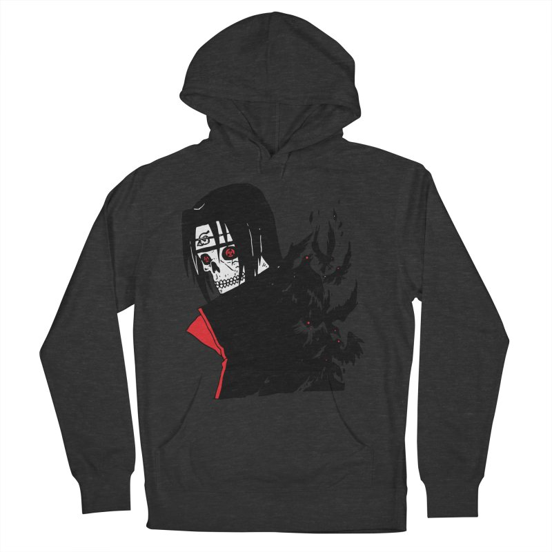Skvllified Itachi Men's French Terry Pullover Hoody by skullpelillustrations's Artist Shop