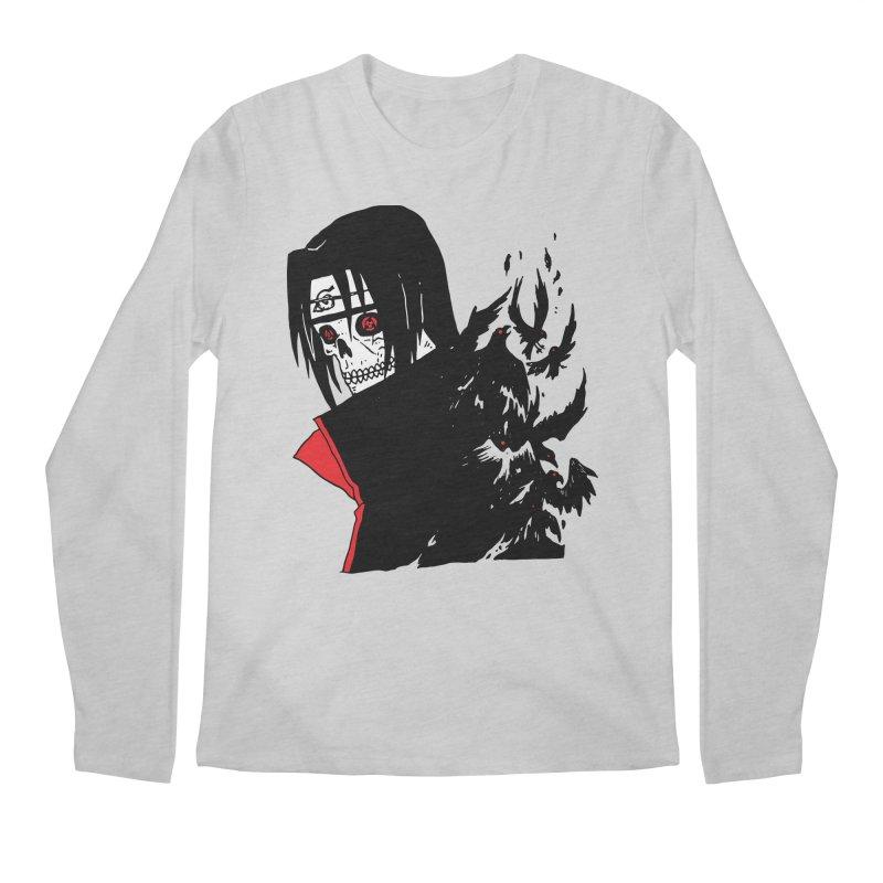 Skvllified Itachi Men's Regular Longsleeve T-Shirt by skullpel illustrations's Artist Shop