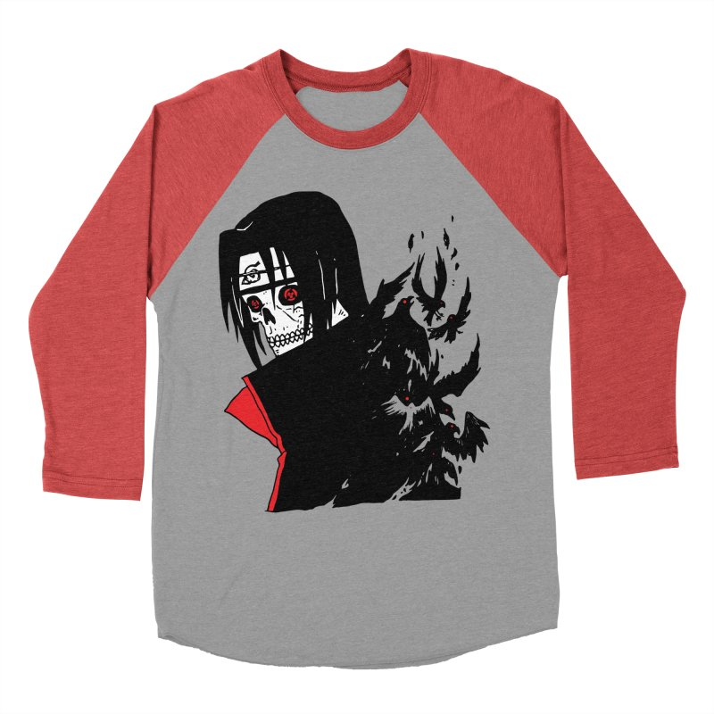 Skvllified Itachi Men's Baseball Triblend Longsleeve T-Shirt by skullpelillustrations's Artist Shop
