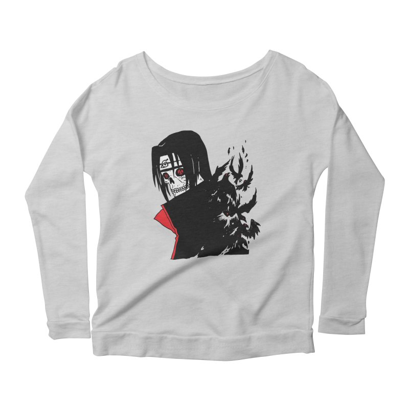 Skvllified Itachi Women's Scoop Neck Longsleeve T-Shirt by Skullpel Illustrations's Artist Shop