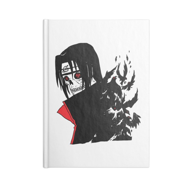 Skvllified Itachi Accessories Notebook by skullpelillustrations's Artist Shop
