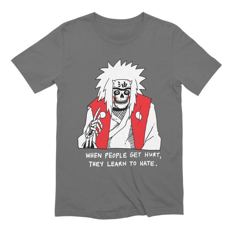 Skvllified Jiraiya Men's Extra Soft T-Shirt by skullpelillustrations's Artist Shop