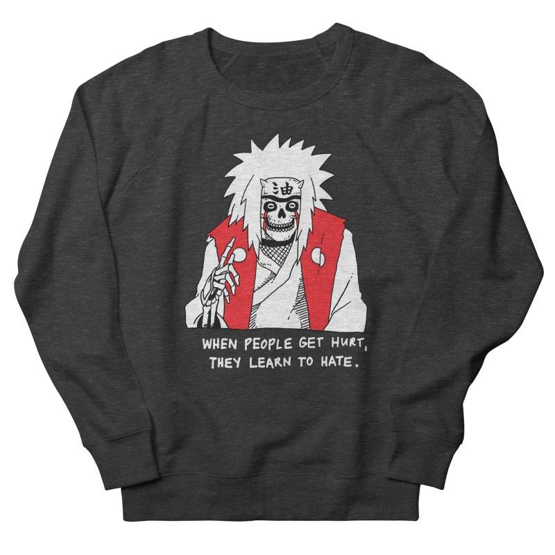 Skvllified Jiraiya Men's French Terry Sweatshirt by skullpelillustrations's Artist Shop