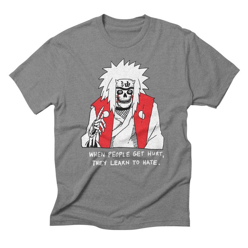 Skvllified Jiraiya Men's Triblend T-Shirt by skullpelillustrations's Artist Shop