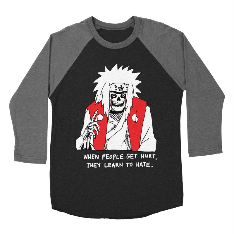 Skvllified Jiraiya Men's Baseball Triblend Longsleeve T-Shirt by skullpelillustrations's Artist Shop
