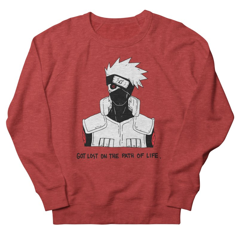Skvllified Kakashi Men's French Terry Sweatshirt by skullpelillustrations's Artist Shop