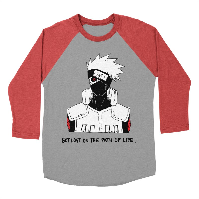 Skvllified Kakashi Men's Baseball Triblend Longsleeve T-Shirt by skullpelillustrations's Artist Shop