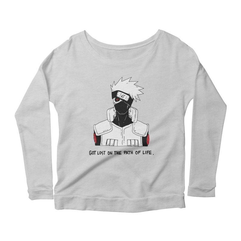Skvllified Kakashi Women's Scoop Neck Longsleeve T-Shirt by skullpelillustrations's Artist Shop
