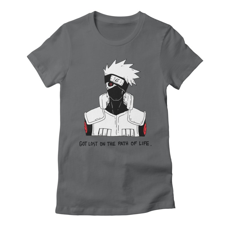 Skvllified Kakashi Women's Fitted T-Shirt by skullpelillustrations's Artist Shop