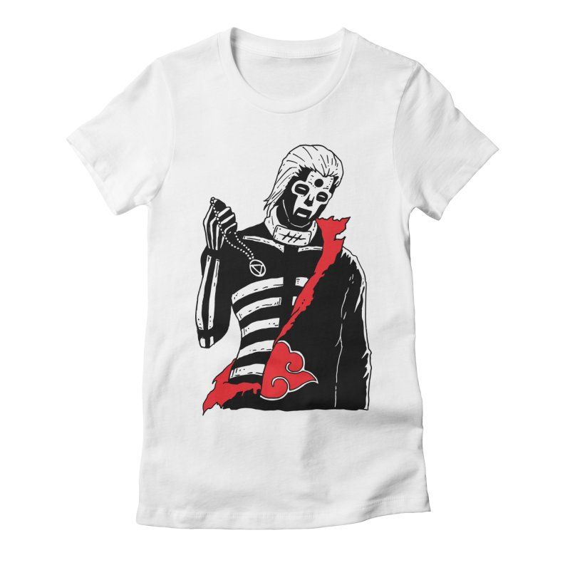 Skvllified Hidan Women's Fitted T-Shirt by skullpelillustrations's Artist Shop