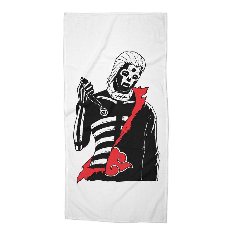 Skvllified Hidan Accessories Beach Towel by skullpelillustrations's Artist Shop