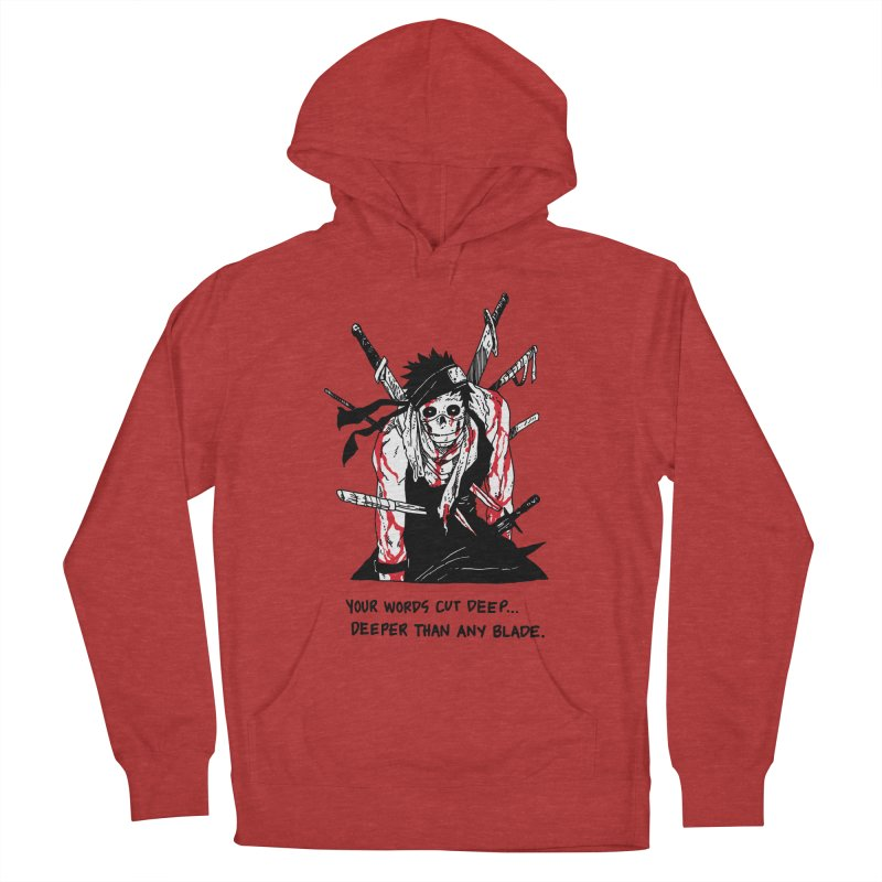 Skvllified Zabuza Women's French Terry Pullover Hoody by skullpelillustrations's Artist Shop