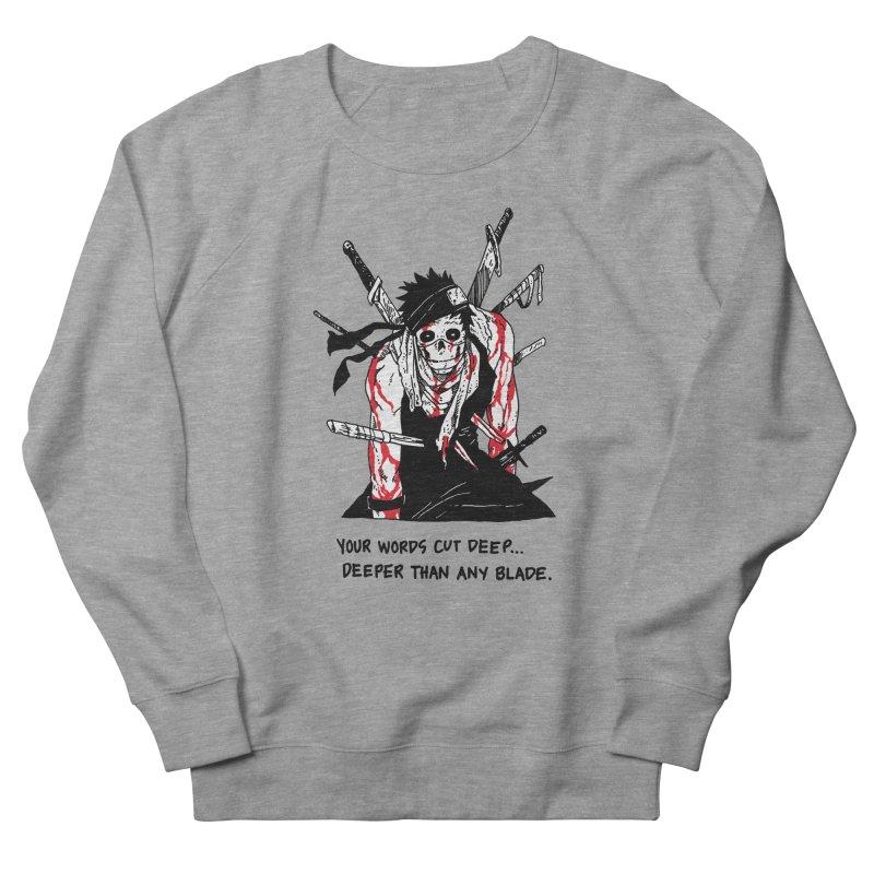 Skvllified Zabuza Men's French Terry Sweatshirt by skullpelillustrations's Artist Shop