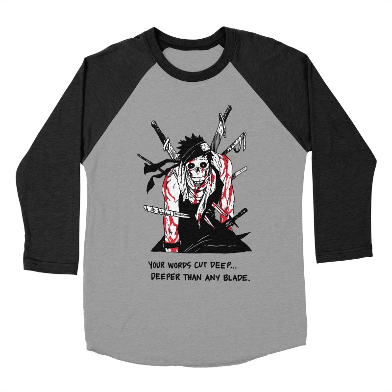 Skvllified Zabuza Men's Baseball Triblend Longsleeve T-Shirt by skullpelillustrations's Artist Shop