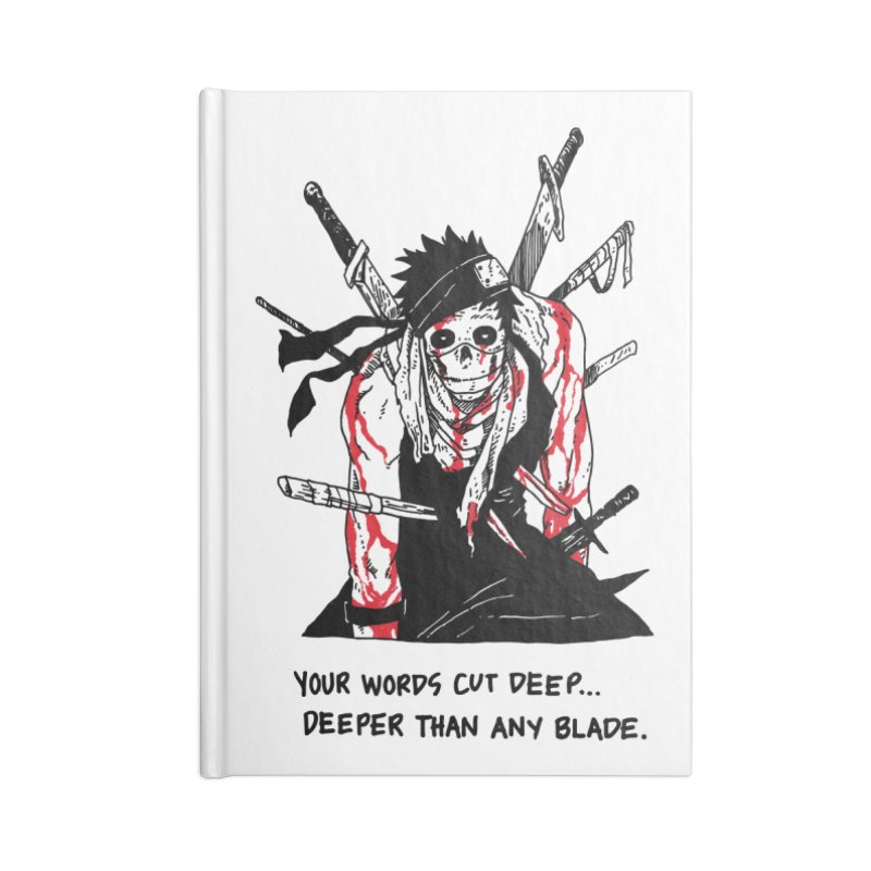 Skvllified Zabuza Accessories Notebook by skullpelillustrations's Artist Shop