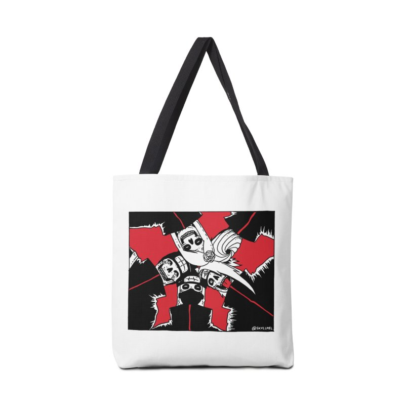 Akatsuki Groupfie Accessories Bag by skullpel illustrations's Artist Shop