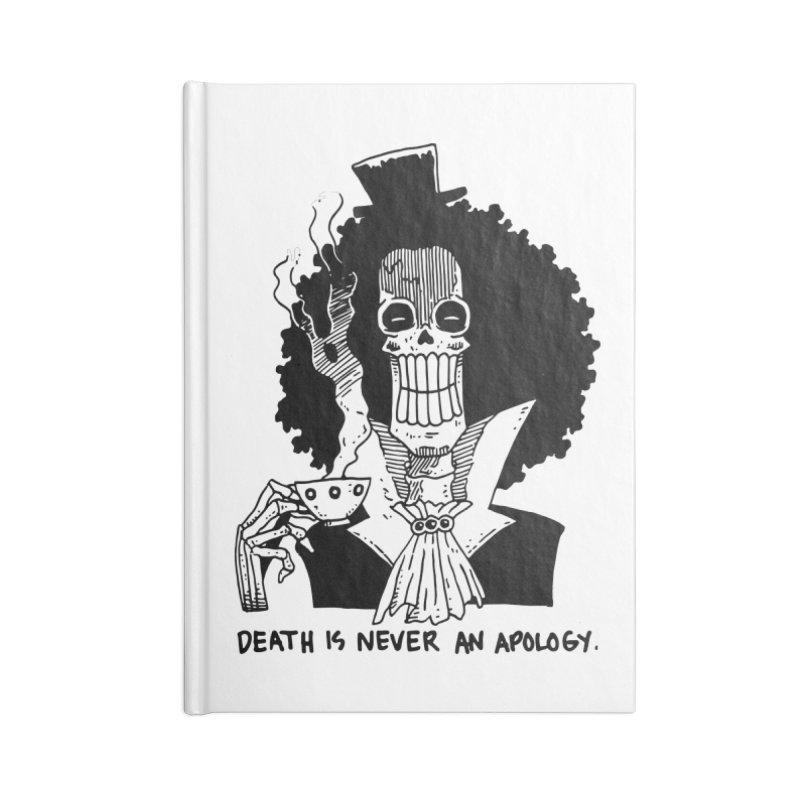 "OP: Skvllified Brook ""Soul King"" Accessories Blank Journal Notebook by skullpel illustrations's Artist Shop"