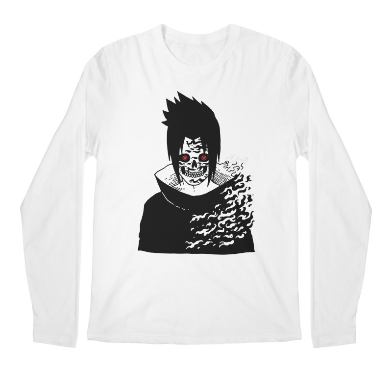 Skvllified Cursed Sasuke Men's Regular Longsleeve T-Shirt by skullpel illustrations's Artist Shop