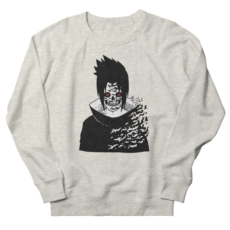 Skvllified Cursed Sasuke Women's French Terry Sweatshirt by skullpel illustrations's Artist Shop