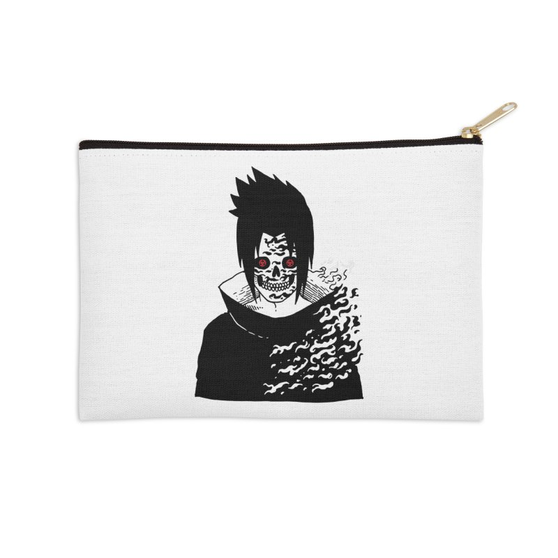 Skvllified Cursed Sasuke Accessories Zip Pouch by skullpel illustrations's Artist Shop