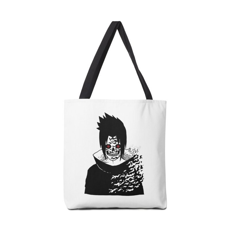 Skvllified Cursed Sasuke Accessories Bag by skullpel illustrations's Artist Shop