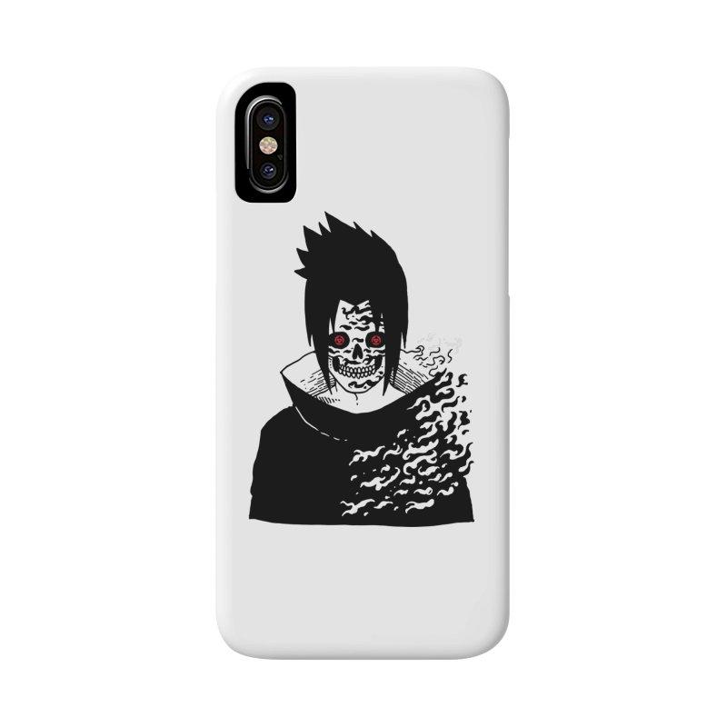 Skvllified Cursed Sasuke Accessories Phone Case by skullpel illustrations's Artist Shop