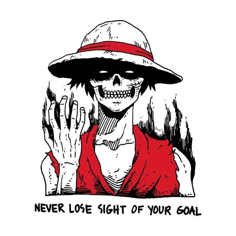 OP: Skvllified Luffy by skullpel illustrations's Artist Shop