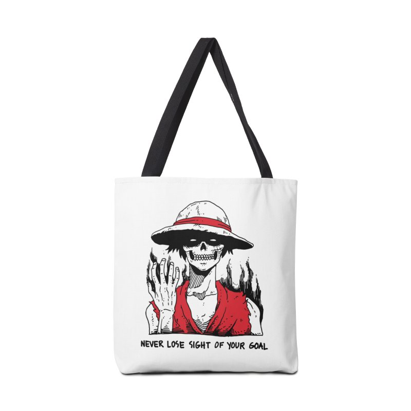 OP: Skvllified Luffy Accessories Bag by skullpel illustrations's Artist Shop