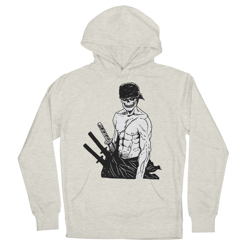 Skvllified Zoro Women's French Terry Pullover Hoody by skullpel illustrations's Artist Shop