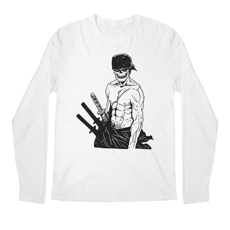 Skvllified Zoro Men's Regular Longsleeve T-Shirt by skullpel illustrations's Artist Shop